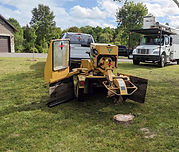 Whether you have a large stump in the backyard or one in the front, we have all the neccsary equiment to get the job done! We offer great rates on our stump grinding servivces! Call for your free quote!