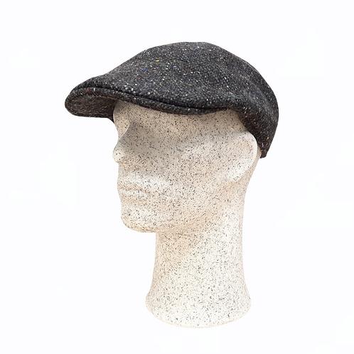 Hanna Hats -tweed-lätsä, muotoiltu t.harmaa