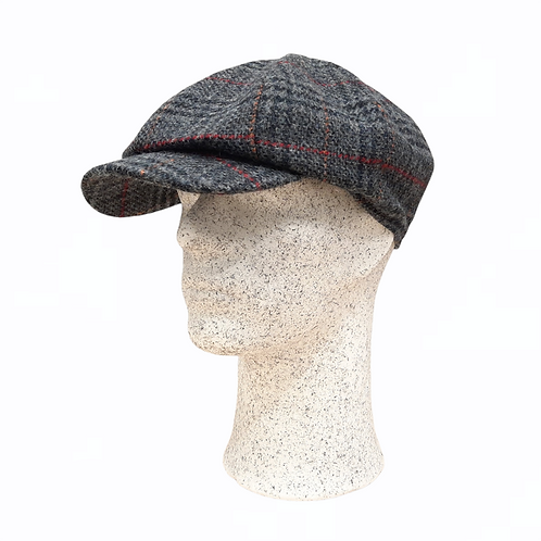 Hanna Hats -tweed-lakki, ruutukuosi