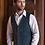 Thumbnail: Mucros Weavers -tweed-liivi, eri värejä