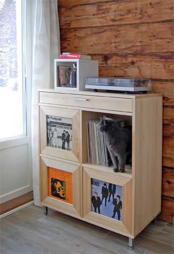 OLOS Record Cabinet