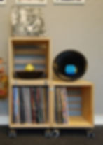 vinyl record cabinet, levykaappi, lp record cabinet