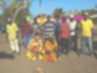 With the Village elder
