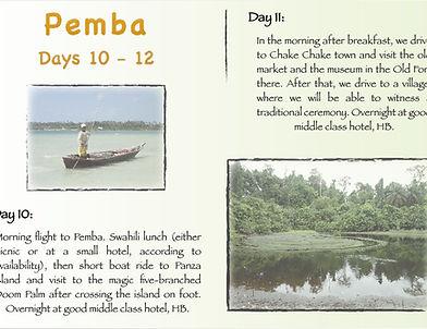 Pemba tour