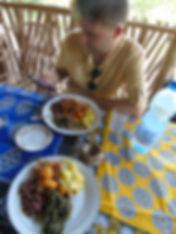 Swahili lunch buffet