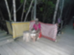 Dinner in the mangrove forest near Pete