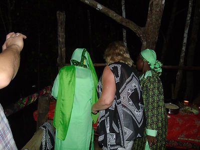 special evening in the mangrove forest near Pete