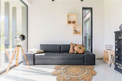 Modern, rug it, runder Teppich, Palma, retro, Jute, Natur