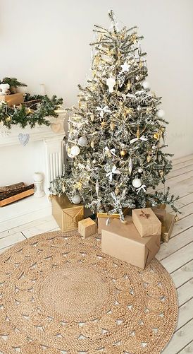 Weihnachten, Christmas, Geschenke, rug it, Jute, Teppich, Dekoration, Natur, Recycelt, Malaga
