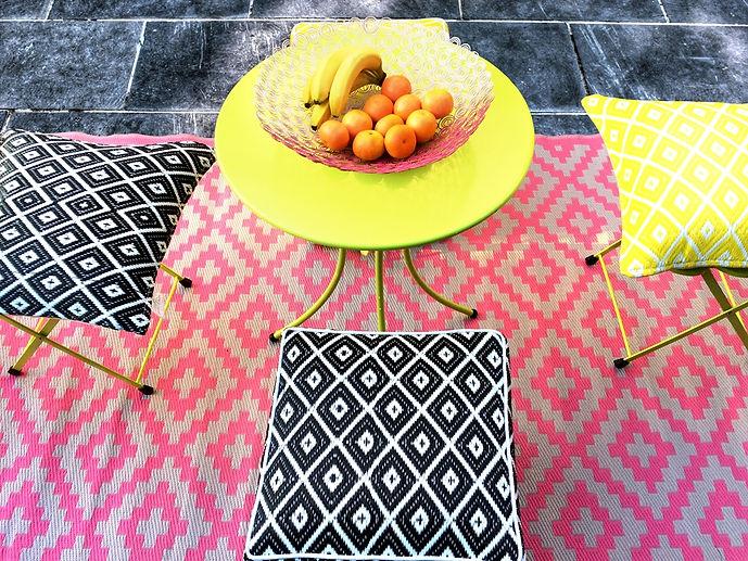 Obst, aesthetic, Cancun, pink, Teppich, Garten, Picknick