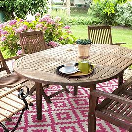 Garten, pink, Muster, ausgefallen, Outdoor Teppich