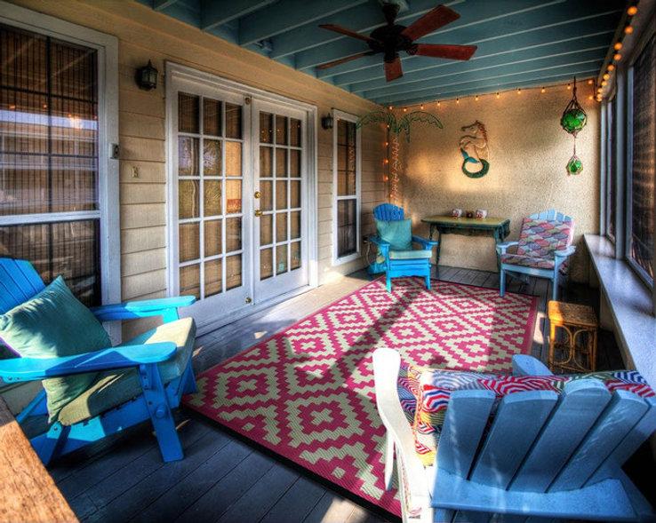 Balkon, Terasse, Teppich, Outdoor, rug it