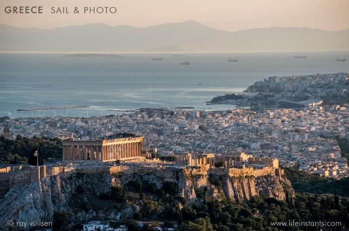 Photography Adventure Travel Greece Sail Acropolis Athens