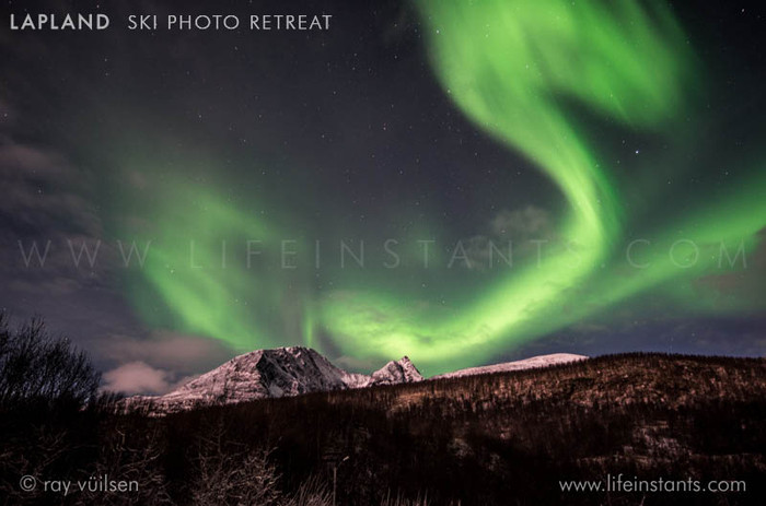 Photography Adventure Travel Lapland Ski Aurora Northern Lights