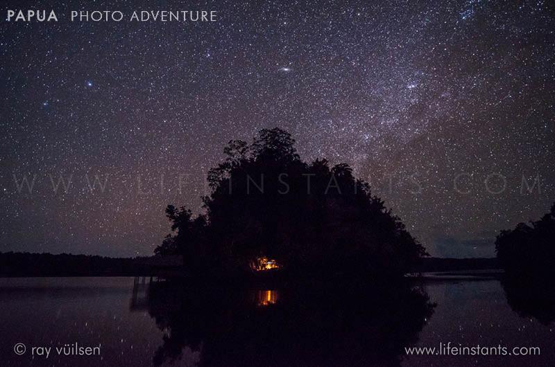 Photography Adventure Travel Papua Sky Milky Way Island
