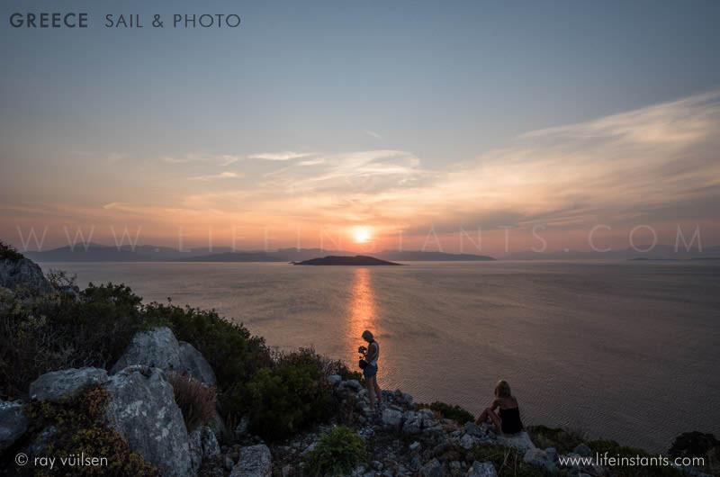 Photography Adventure Travel Greece Sail Islands Sunset
