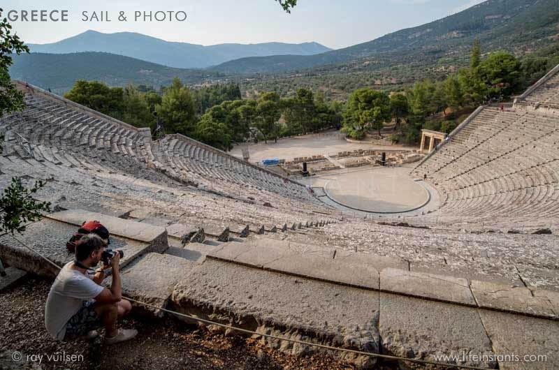 Photography Adventure Travel Greece Sail Amphitheatre