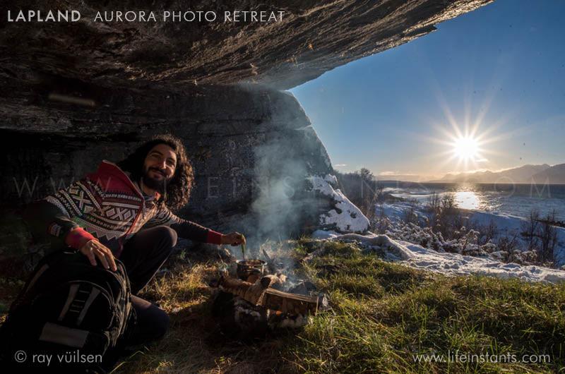 Photography Adventure Travel Lapland Aurora Sunset Gastronomy