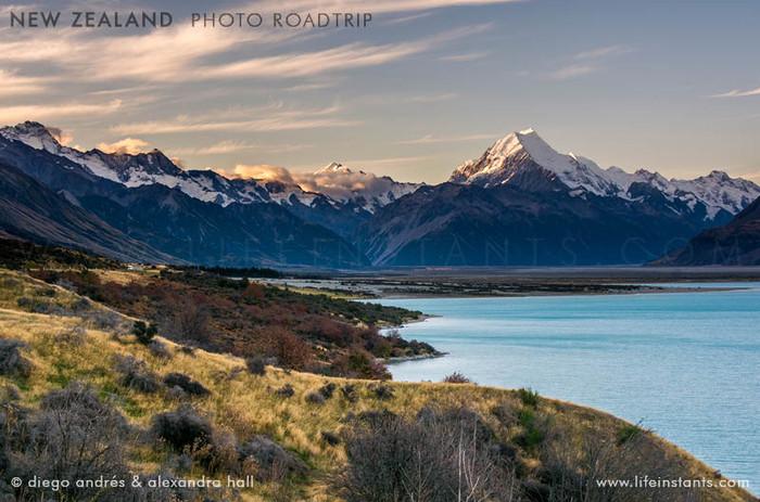 Photography Adventure Travel New Zealand Lake