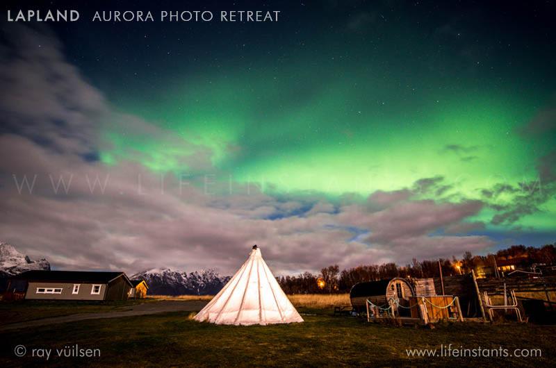 Photography Adventure Travel Lapland Aurora Northern Lights