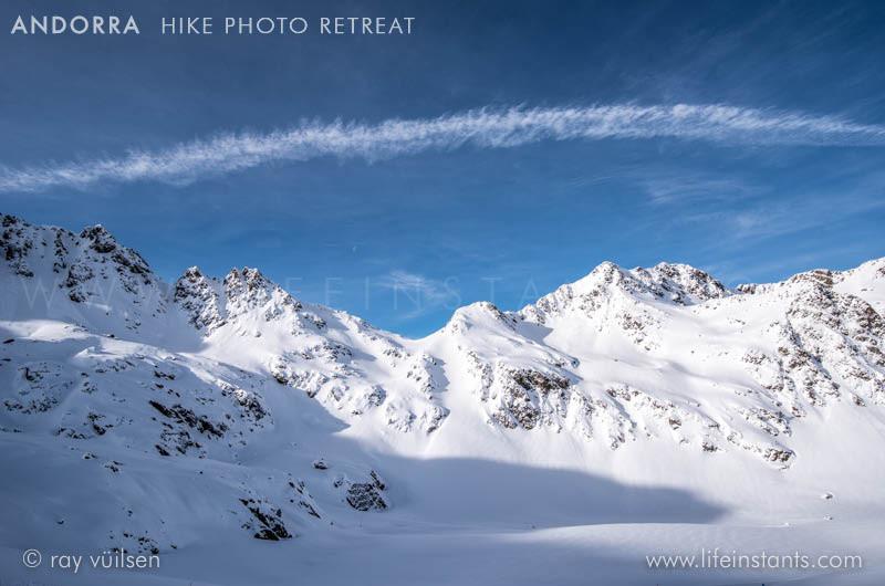 Photography Adventure Travel Andorra Hike Mountains Snow
