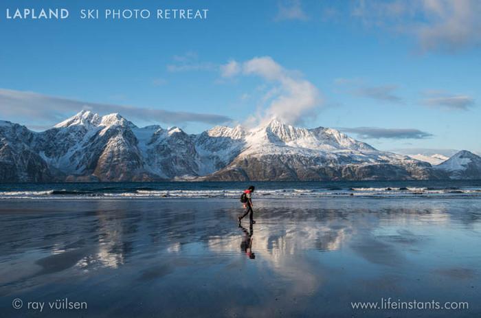 Photography Adventure Travel Lapland Ski Mountains Beach