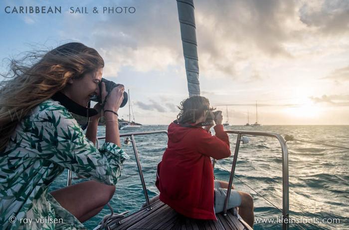 Photography Adventure Travel Caribbean Sail Boat Sunset