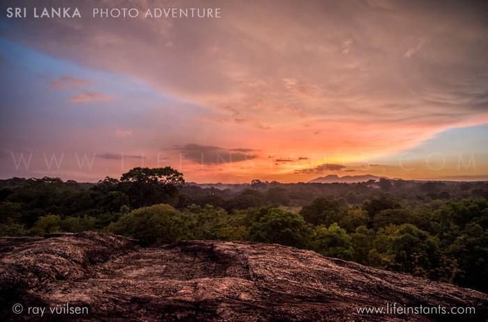 Photography Adventure Travel Sri Lanka Sunset