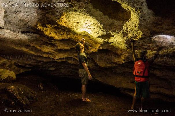 Photography Adventure Travel Papua Cave