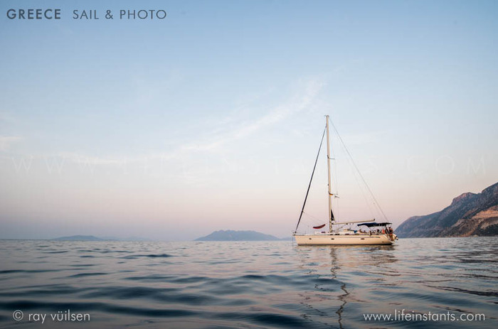 Photography Adventure Travel Greece Sail Boat Beach
