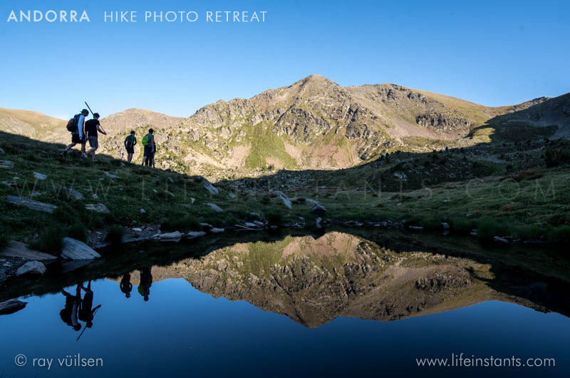 Photography Adventure Travel Andorra Hike Lake Reflection