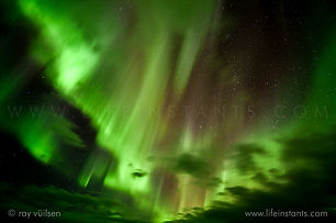 Life Instants Photography Adventure Travel Print Noway Northern Lights