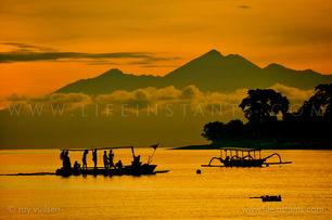Life Instants Photography Adventure Travel Print Indonesia Volcano