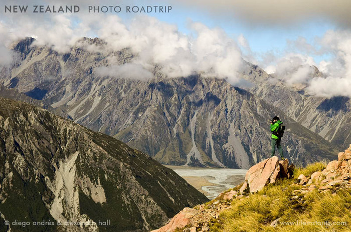 Photography Adventure Travel New Zealand Mountains