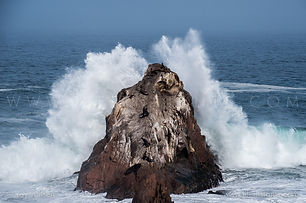 Life Instants Photography Adventure Travel Print Peru Sea Rock