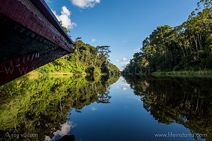 Life Instants Photography Adventure Travel Print Peru Amazon River