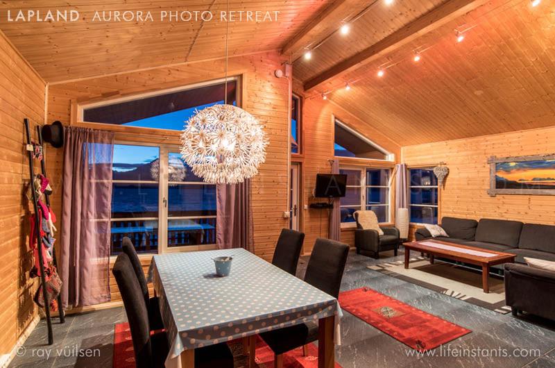 Photography Adventure Travel Lapland Aurora Lodge Comfort