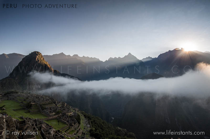 Photography Adventure Travel Peru Machu Picchu Sunrise