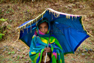 Life Instants Photography Adventure Travel Print Ethiopia Girl