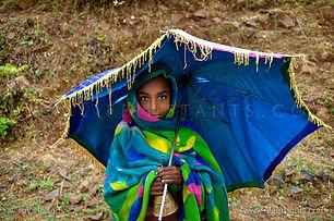 Life Instants Photography Adventure Travel Print Ethiopia Girl