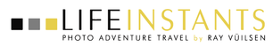 Life Instants Photography Adventure Travel Logo