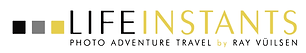 Life Instants Photography Adventure Travel Logo