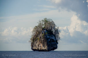 Life Instants Photography Adventure Travel Print Philippines Island Rock