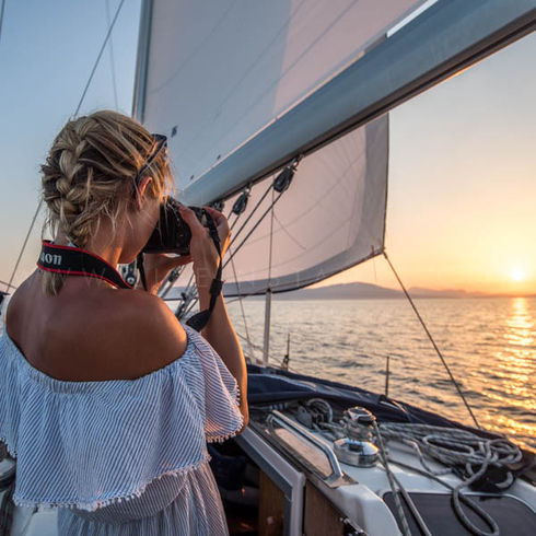 Life Instants Photography Adventure Travel Dream Destinations Sailing Sunset