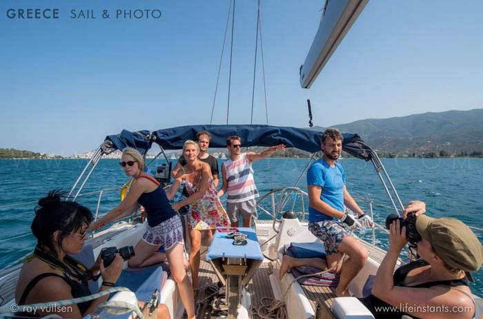 Photography Adventure Travel Greece Sail Boat Crew