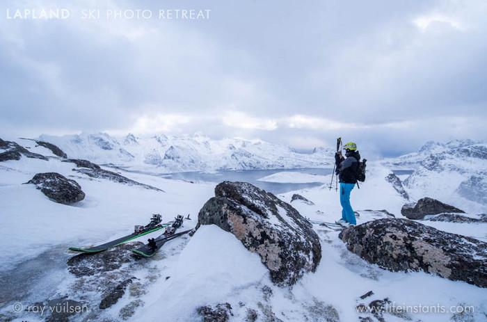 Photography Adventure Travel Lapland Ski Fjord