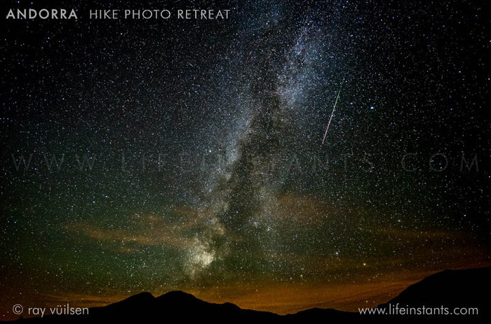 Photography Adventure Travel Andorra Hike Milky Way Stars