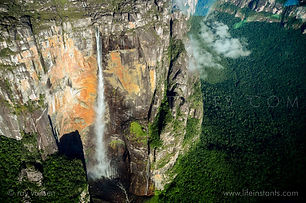 Life Instants Photography Adventure Travel Print Venezuela Angel Waterfall