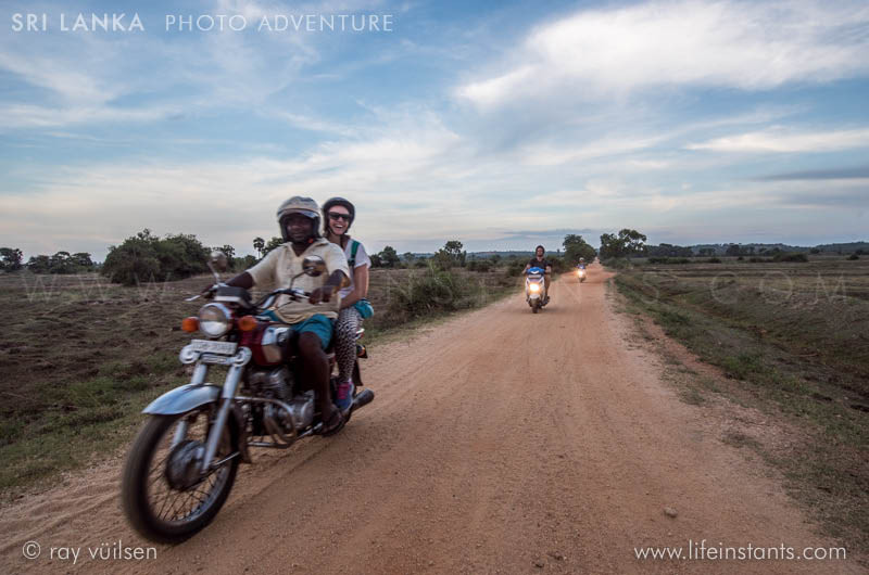 Photography Adventure Travel Sri Lanka Motorbike