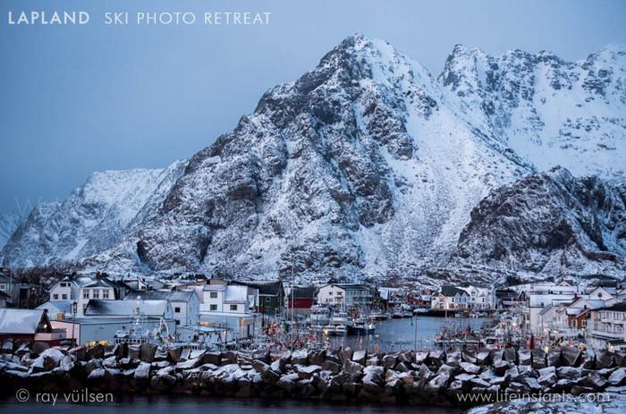Photography Adventure Travel Lapland Ski Village